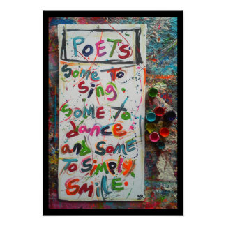 poets poster