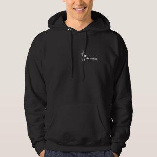 Pointeless mörka Hookie (anpassadet) Sweatshirt Med Luva