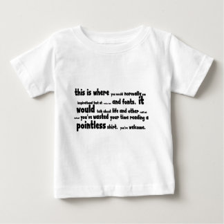 Pointless saker tee shirts