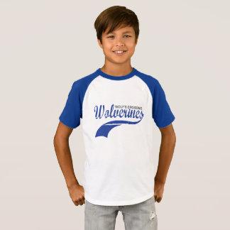 Pojkar för WolverinesbaseballRaglan T-shirts