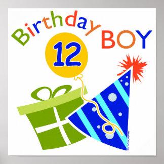 Pojke12:efödelsedag Poster