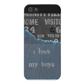 Pojke-baby dusch iPhone 5 fodral