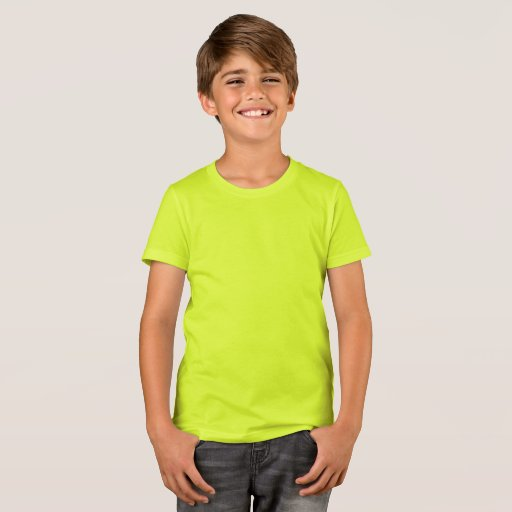 Barn Bella+Canvas Crew T-Shirt, Neon Gult