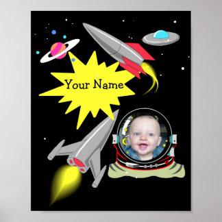 Pojke dekor för tryck för affisch för ram för foto