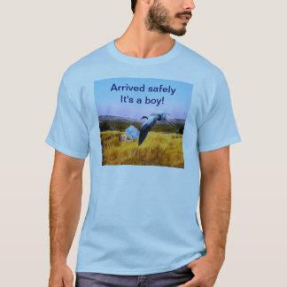 Pojke för stolt pappa t-shirts