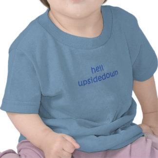 Pojke - helvete Upsidedown T Shirts