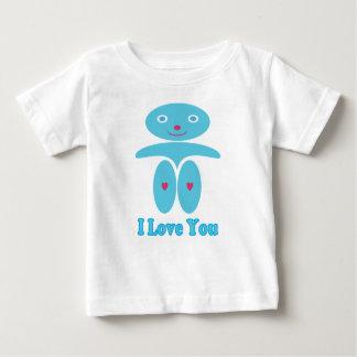 Pojke i blått - jag älskar dig tee shirt