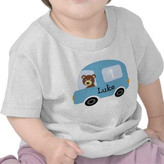 Pojke T-tröja för födelsedag för bil för