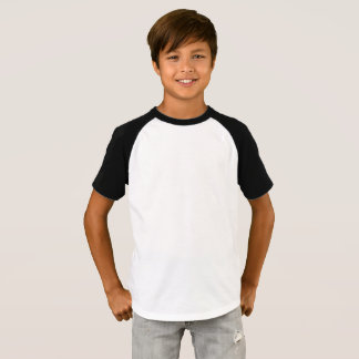 Pojke T-tröja för kortärmadRaglan T-shirt