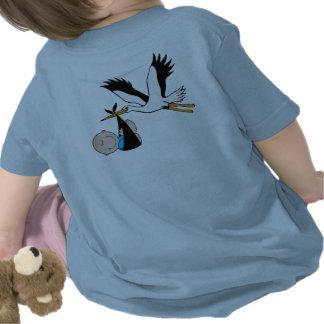 Pojkeblått Stork