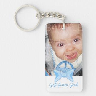 Pojkefotogåvan från gudblått bugar bibelverse