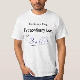 Pojken älskar balett t shirts