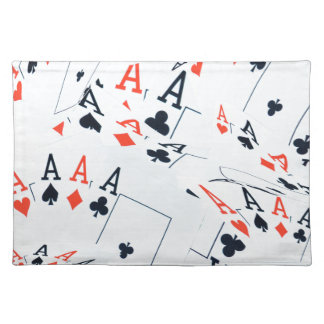 Poker _Aces som är _Pattern, _, Bordstablett
