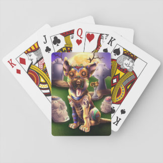 Poker Cards Wolfgang valptysken Sheperd Spelkort
