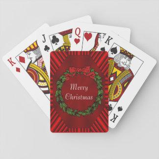Poker för Calliopejulklassiker som leker kort Spel Kort