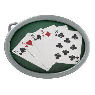 Poker räcker - fyra av en sort - Fives och åtta