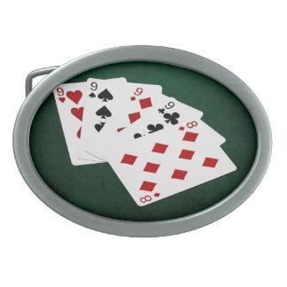 Poker räcker - fyra av en sort - Nines och åtta