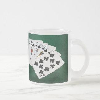 Poker räcker - royalspolningen - klubbkostymen frostad glasmugg