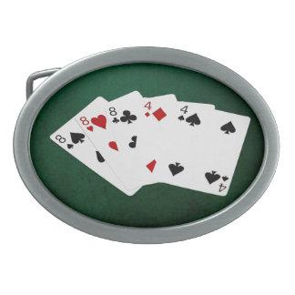 Poker räcker - utsålten - åtta och fyra