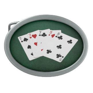 Poker räcker - utsålten - sju och fem