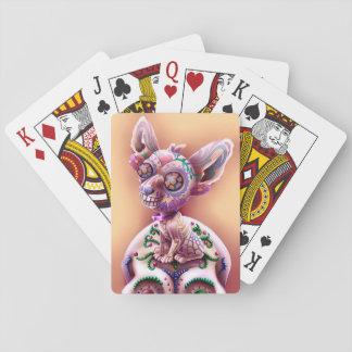 Poker som leker den kortChico El chihuahuaen Spelkort