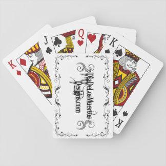 Poker som leker kort DiaDeLosMuertosDesigns Spelkort