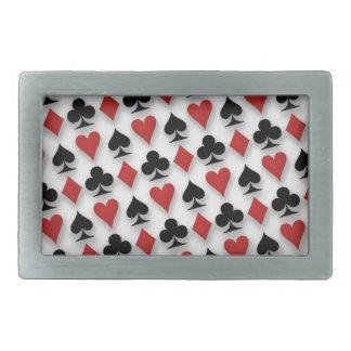 Poker som leker kortmönsterdesign