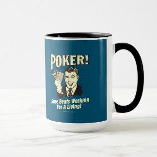 Poker: Takter som är funktionsdugliga för ett Mugg