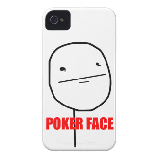 Pokeransikte - fodral för iPhone 4/4S iPhone 4 Fodraler