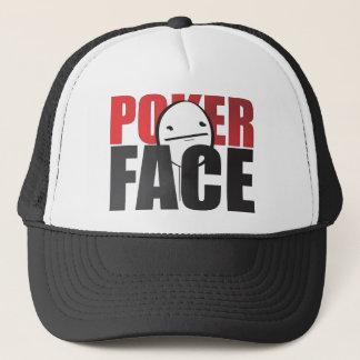 Pokeransiktehatt! Truckerkeps