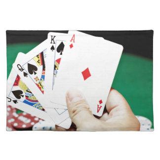Pokerbran räcker bordstablett
