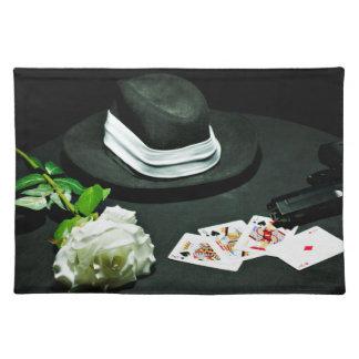 Pokergangstervapnet steg bordstablett