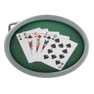 Pokerhänder - raksträcka - överdängare till tio