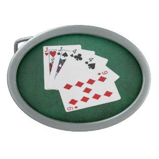 Pokerhänder - två para - jack, fyra