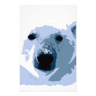 Polar björn brevpapper