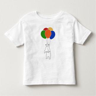 Polar björn för flyg med födelsedagballonger tröja
