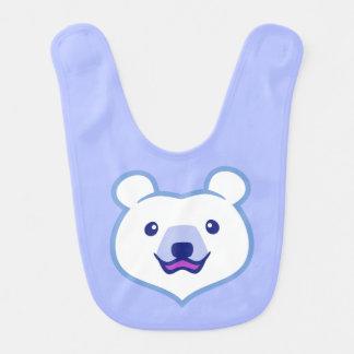 Polar björn för gullig Minimalist tecknad Hakklapp