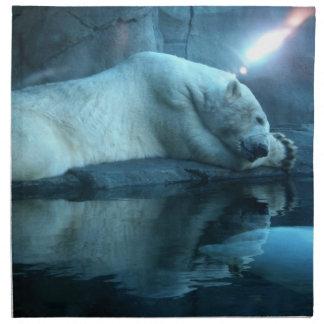 Polar björn i servett för bön 2