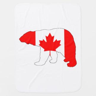 """Polar björn """"Kanada """", Bebisfilt"""
