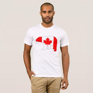 """Polar björn """"Kanada """", T-shirt"""