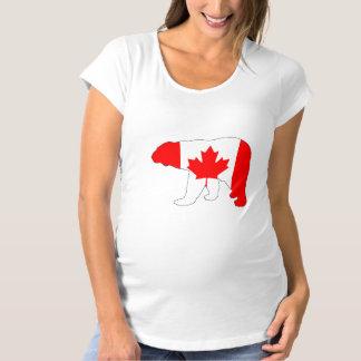 """Polar björn """"Kanada """", Tee Shirt"""