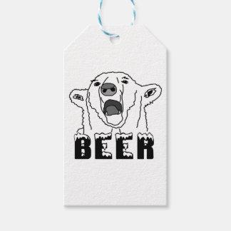 Polar björn presentetikett