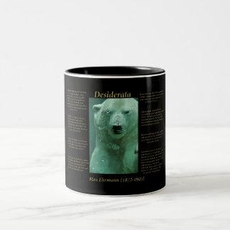 Polar björn Två-Tonad mugg
