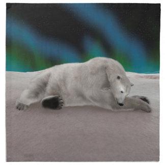 Polar björn tygservett
