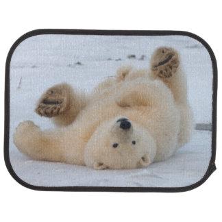 polar björn, Ursusmaritimus, unge rullande 3 Bilmatta