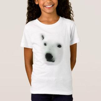Polar björnansiktet-skjorta t shirts