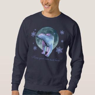Polar björnmåneskjorta långärmad tröja