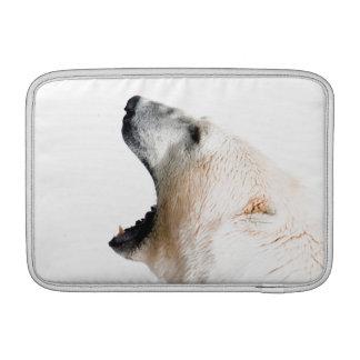 Polar björnmorrande sleeve för MacBook air