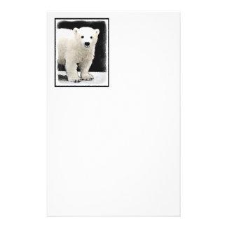 Polar björnunge brevpapper