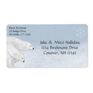 Polar helgdag för jul för fraktsedel
